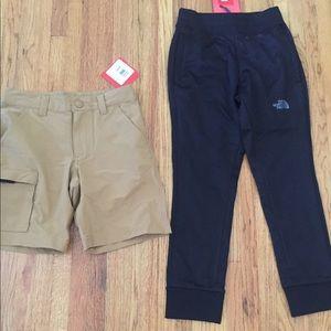 🚗🚗North Face Boys Jogger Pants & Shorts